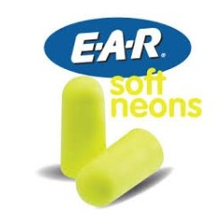 EAR TAPPI SOFT YELLOW NEONS